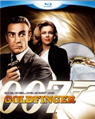 La copertina di 007 - Missione Goldfinger (blu-ray)