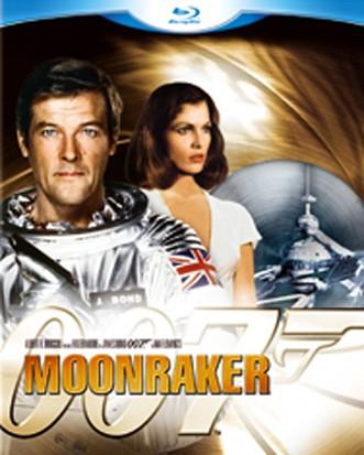 La copertina di 007 - Moonraker: Operazione spazio (blu-ray)