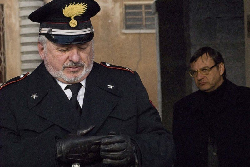 Marco Messeri in una scena del film L'ultimo crodino
