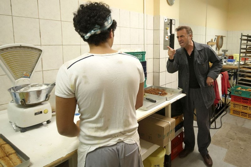 Massimo Ghini in una scena del tv-movie Sui tuoi passi