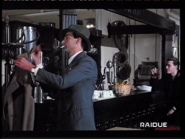 Mauro Leuce in una sequenza del film Celluloide.