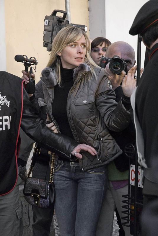 Serena Autieri in un'immagine del film L'ultimo crodino