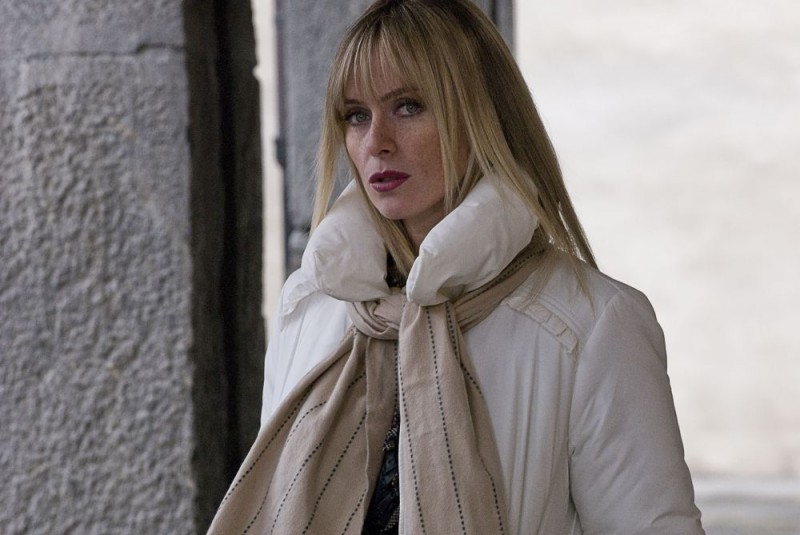 Serena Autieri in una scena del film L'ultimo crodino