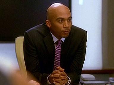 James Lesure nel ruolo di Griffin nell'episodio 'Chapter ten: Let it be' della serie Lipstick Jungle