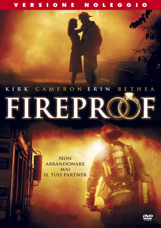 La copertina di Fireproof (dvd)