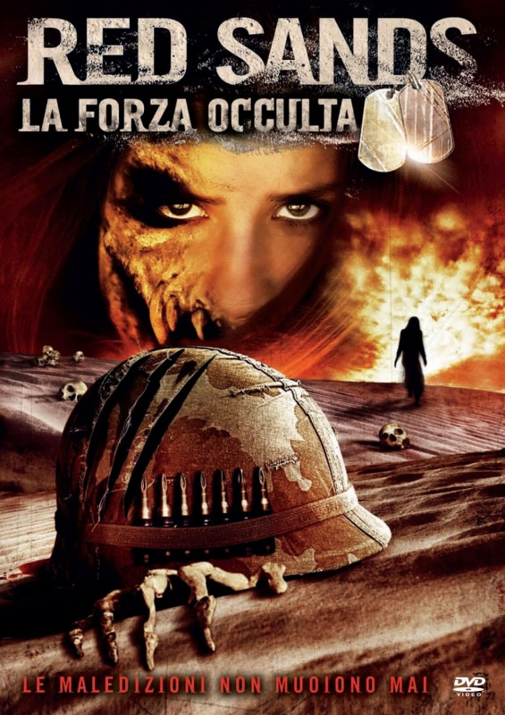 La copertina di RED SANDS - La forza occulta (dvd)
