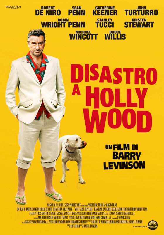 La locandina italiana del film Disastro a Hollywood