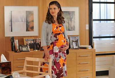 Shannon McGinnis nel ruolo di Megan, l'amante di Charles nella serie Lipstick Jungle, episodio: Chapter Nine: Help!