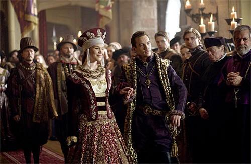 Jonathan Rhys Meyers e Joss Stone nella terza stagione della serie tv 'I Tudors'