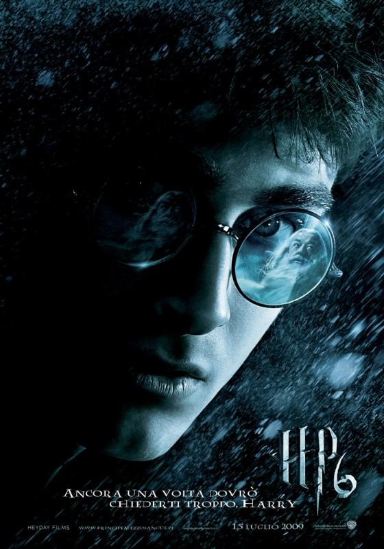 La locandina italiana di Harry Potter e il principe mezzosangue