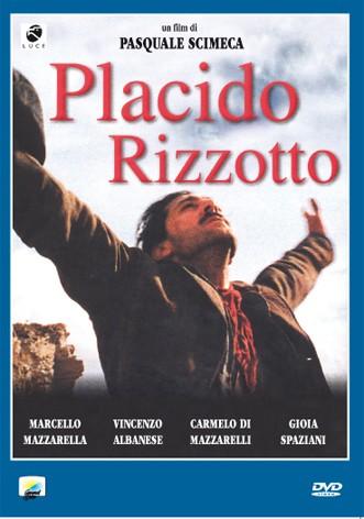 La copertina di Placido Rizzotto (dvd)