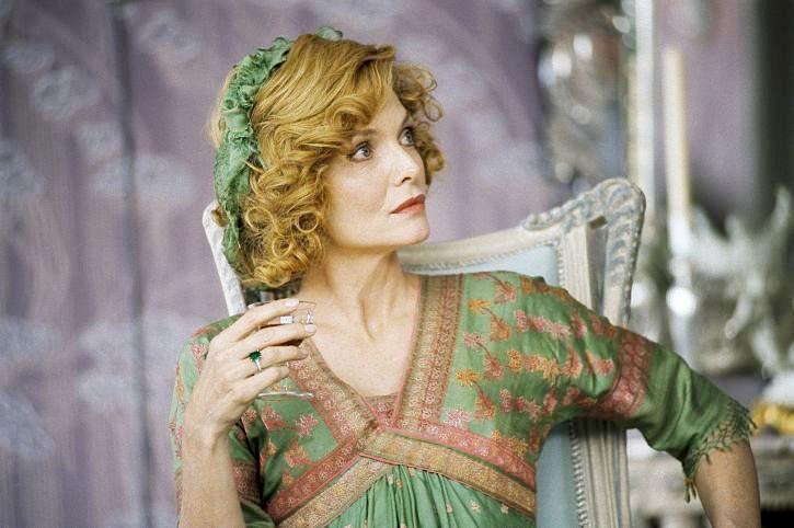 Un primo piano della belle Michelle Pfeiffer in Cherì