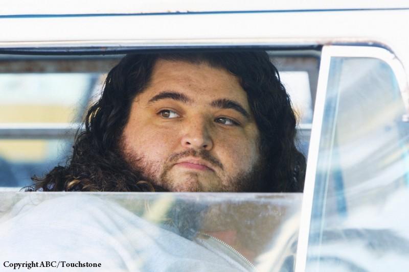 Jorge Garcia è Hurley in una scena dell'episodio Namaste di Lost