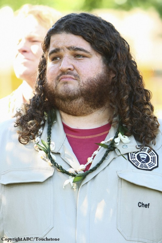 Jorge Garcia in una scena dell'episodio Namaste di Lost