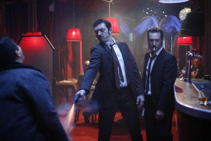 Vincent Cassel in una scena di Nemico pubblico n°1 - L'istinto di morte