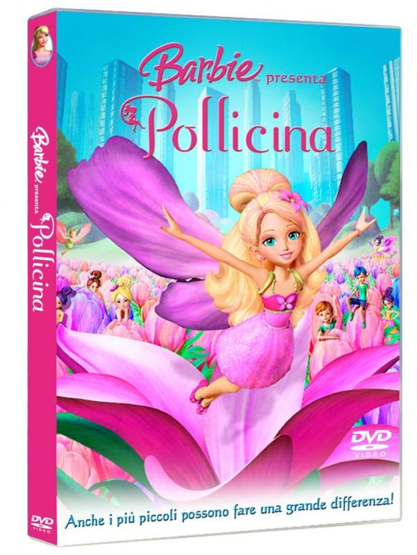 La copertina di Barbie presenta Pollicina (dvd)