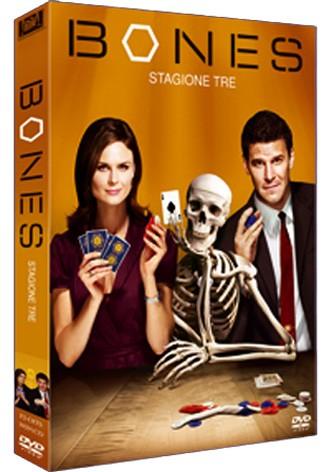 La copertina di Bones - Stagione 3 (dvd)