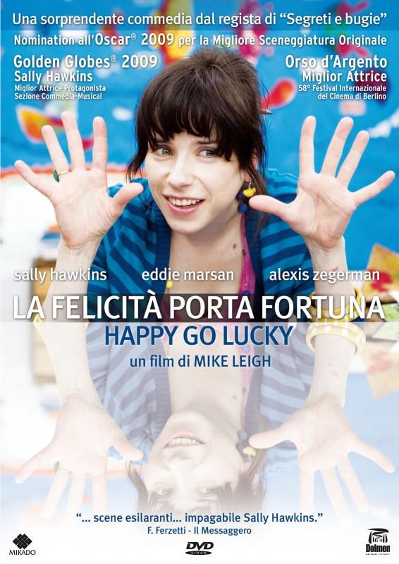 La copertina di La felicità porta fortuna (dvd)