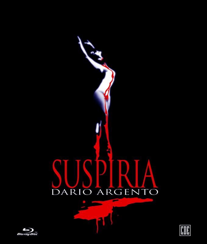 La copertina di Suspiria (blu-ray)
