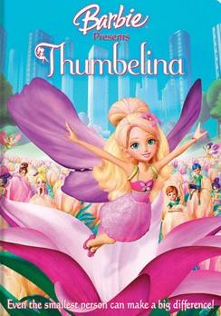 La locandina di Barbie presenta Pollicina