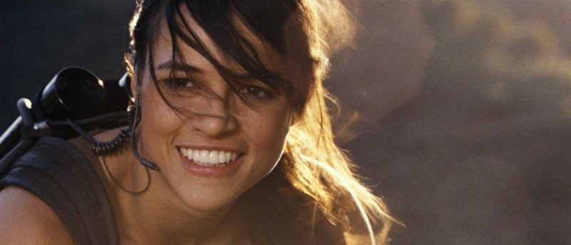 Michelle Rodriguez è Letty nel film Fast and Furious - Solo parti originali