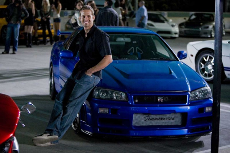 Paul Walker è l'agente Brian O'Conner nel film Fast and Furious - Solo parti originali