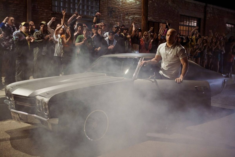 Vin Diesel in un'immagine del film Fast and Furious - Solo parti originali