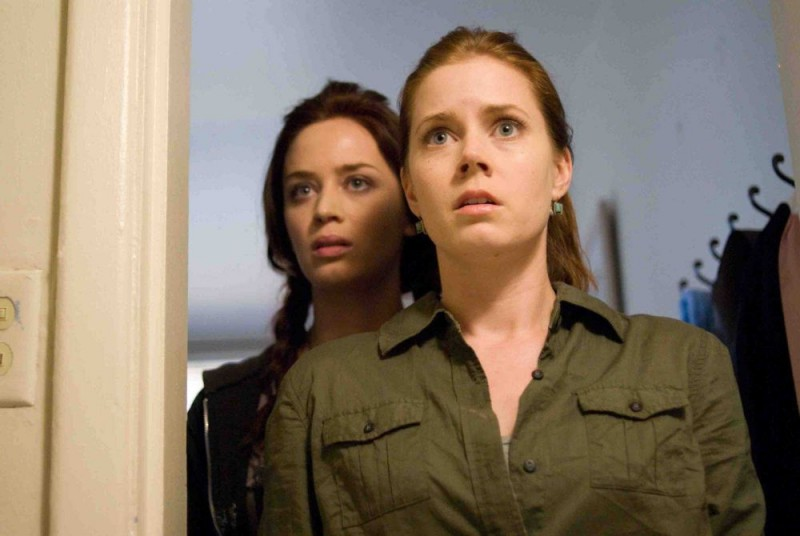 Emily Blunt e Amy Adams in una scena del film Sunshine Cleaning