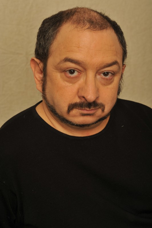 L\'attore Orfeo Orlando in una foto di Mauro Terzi