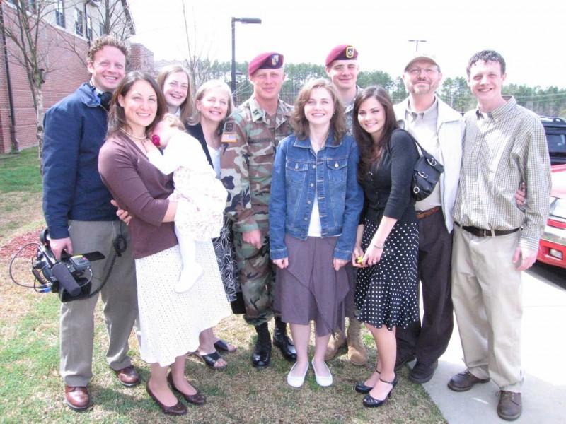 La famiglia Radermacher protagonista del documentario Brothers at War