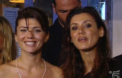 La Fattoria 4, prima puntata - Daniela Martani con Giovanna Rei