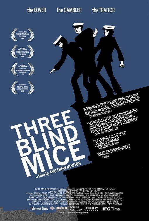 La locandina di Three Blind Mice