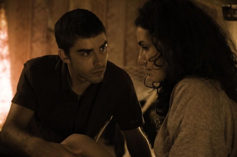 Michele Riondino e Morena Salvino in una scena del film Principessa