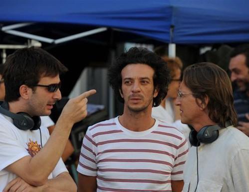 Picone e Ficarra sul set del film La matassa