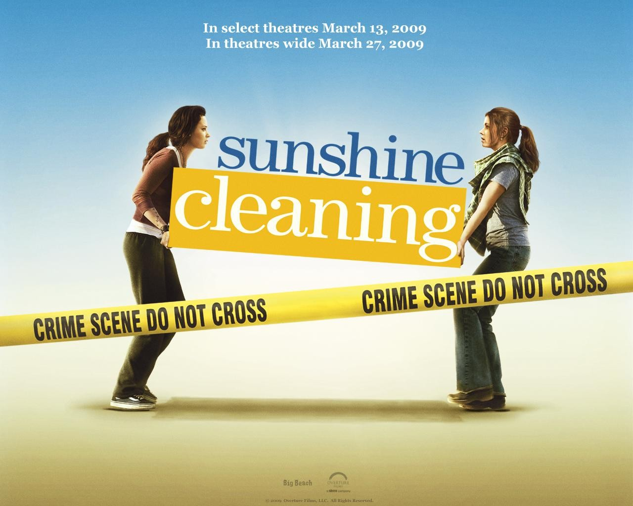 Un wallpaper del film Sunshine Cleaning