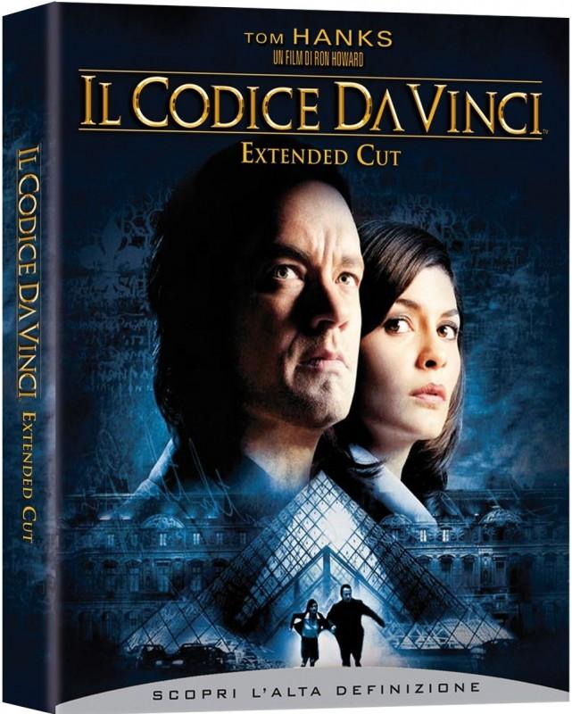 La copertina di Codice da Vinci - Extended Cut (blu-ray)