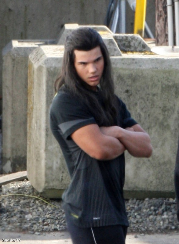 Taylor Lautner set del seguito di Twilight, New Moon a Vancouver