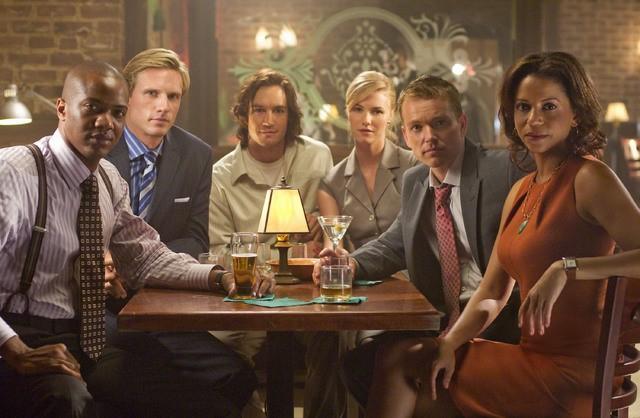 Il cast di Avvocati a New York in una immagine promozionale della serie