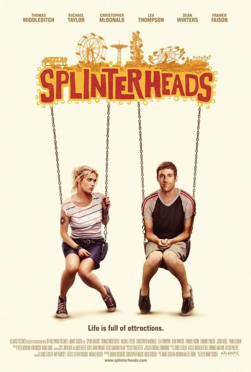 La locandina di Splinterheads