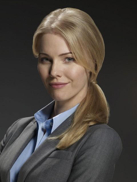 Melissa Sagemiller in una foto promozionale della serie Avvocati a New York