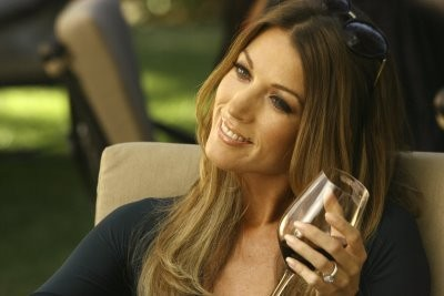 Natalie Zea in un momento nell'episodio ' The Chiavennasca ' della serie tv Dirty Sexy Money