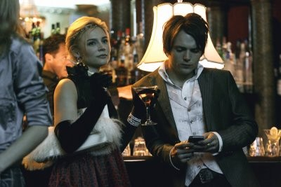 Seth Gabel con Samaire Armstrong nell'episodio ' The Chiavennasca ' della serie tv Dirty Sexy Money