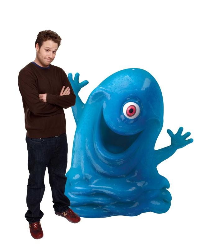 Seth Rogen è la voce di B.O.B. nel film d'animazione Mostri contro Alieni