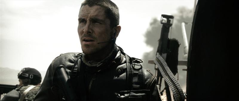 Christian Bale è il protagonista del film Terminator Salvation