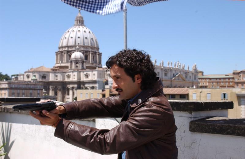 Fabio Ferri in una foto di scena di Rex 2