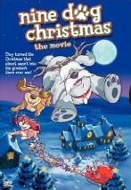 La locandina di I nove cani di Babbo Natale