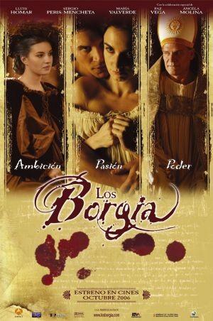 La locandina di Los Borgia