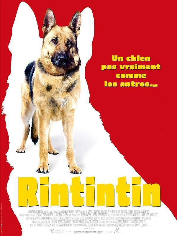La locandina di Rin Tin Tin