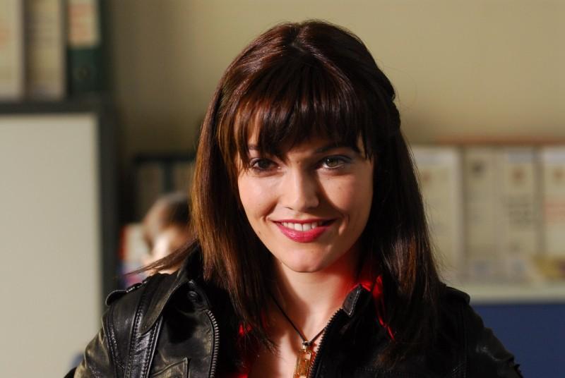 Pilar Abella in una foto di scena di Rex 2