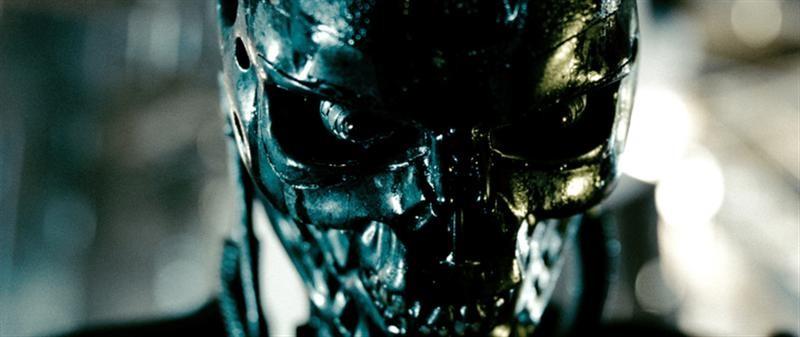 Una scena del film Terminator Salvation